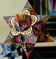 decorated small Stellated dodecahedron