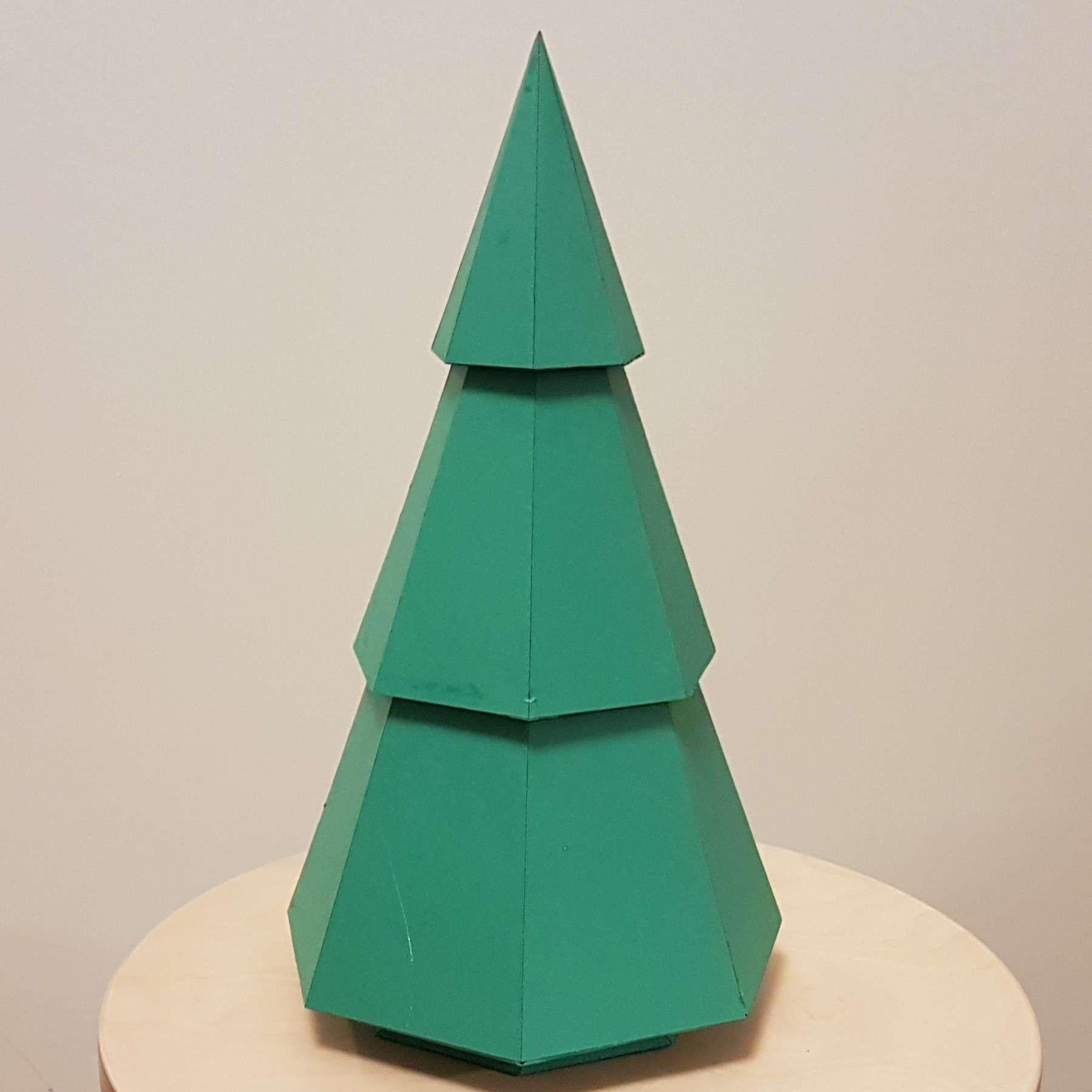 Paper Christmas Tree.Paper Christmas Tree
