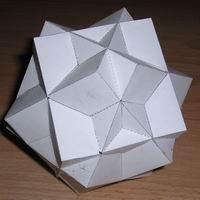 Compound of three cubes