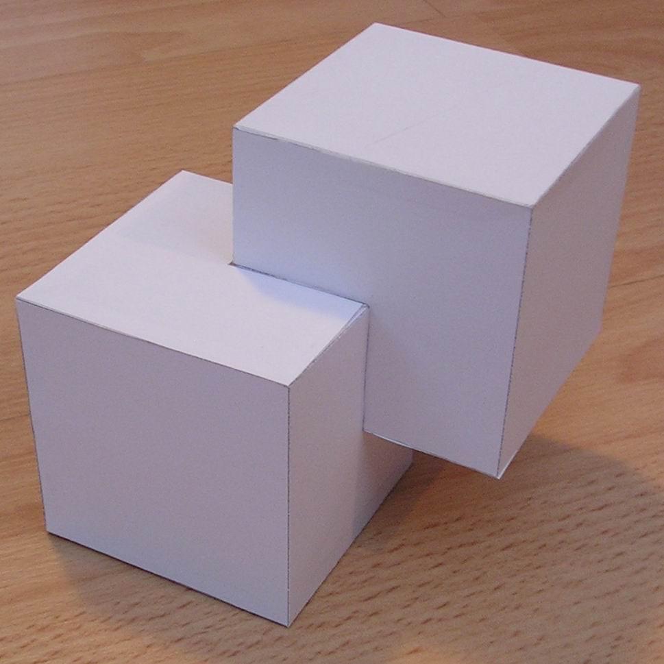 Paper Cubic Shapes