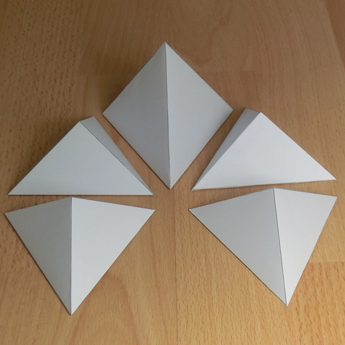 Hexahedron platonic solid template. Paper model of a cube, one of ... | 1200x1200