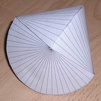 Paper model hecatohedron
