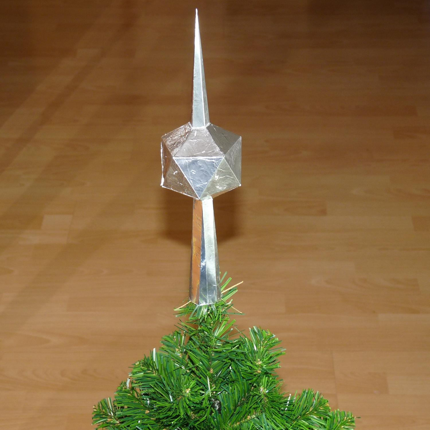 Paper Christmas Tree Toppers