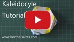 Tutorial for kaleidocycles