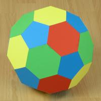 truncated icosahedron (large)