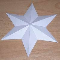 hexagonal star pyramid