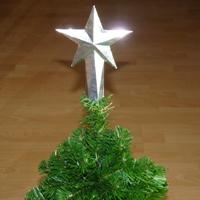 top star Christmas tree