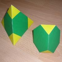 truncated tetrahedron and tetrahedron