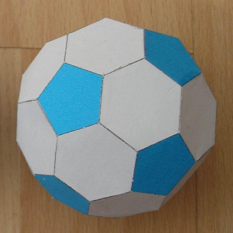 Paper Soccer Ball Mini – How to Make Paper Soccer Ball – DIY Mini ... | 800x802