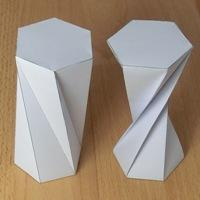 two twisted hexagonal prisms