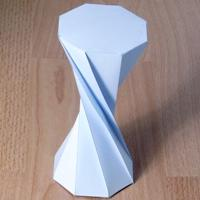 twisted octagonal prism