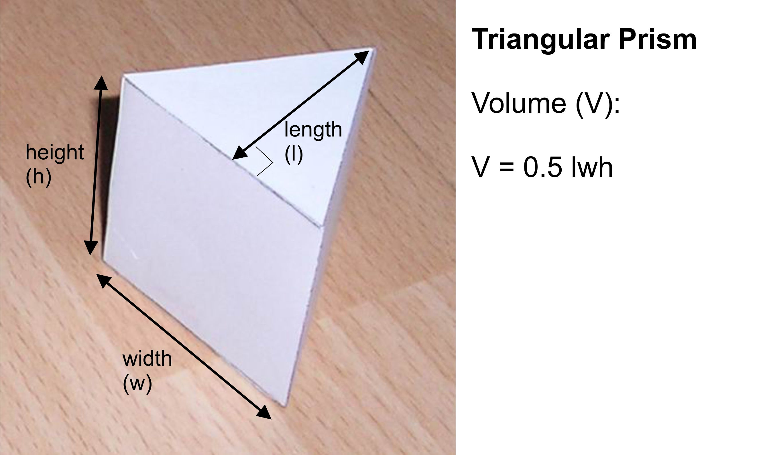 graphic about Triangular Prism Net Printable known as Paper Triangular Prism